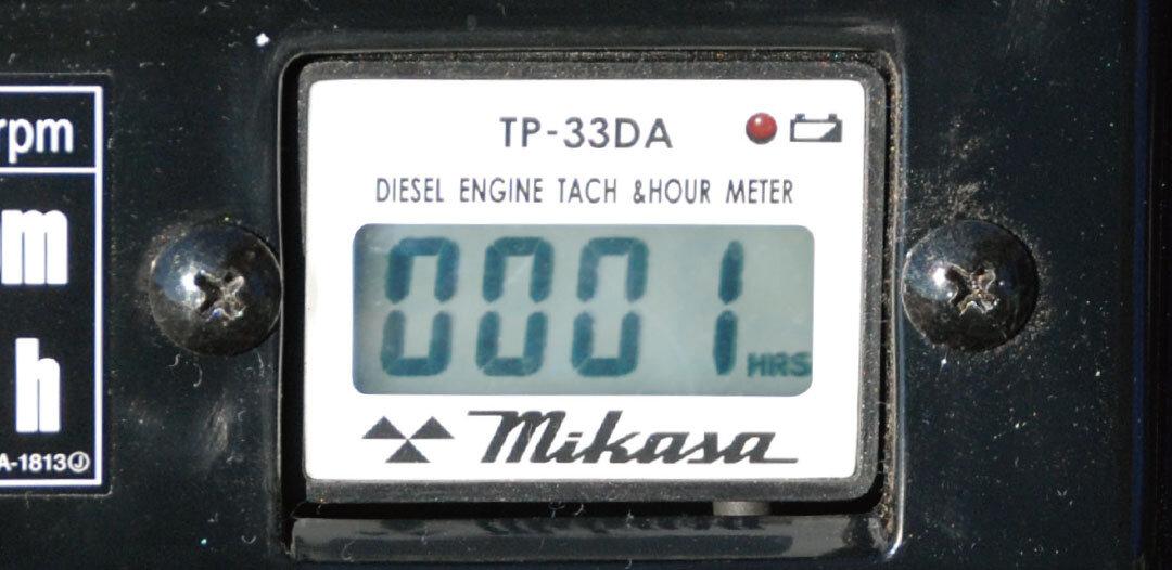 ディーゼルエンジン用タコ・アワーメーター