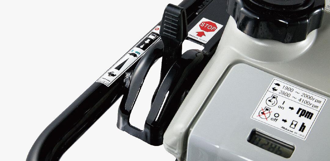 燃料カットオフ機構連動キルスイッチ付スロットルレバー